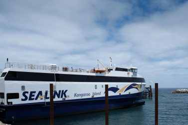 A regular vehicle SeaLink ferry service makes access to KI quick and easy.